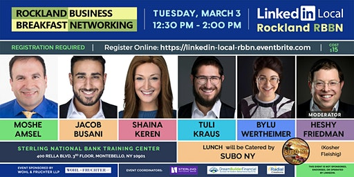LinkedIn Local Rockland RBBN - March 2020