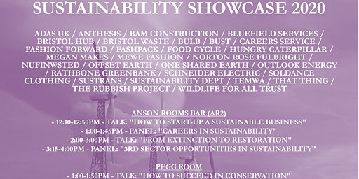 Sustainability Showcase: Green Careers Fair and Local Business Market