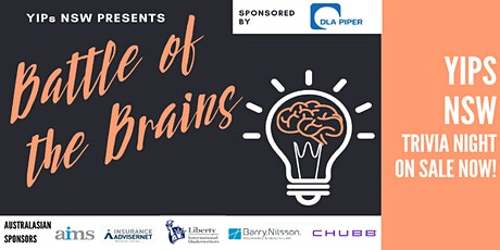 YIPs NSW presents: Battle of the Brains 2020 Trivia & Networking Event tickets