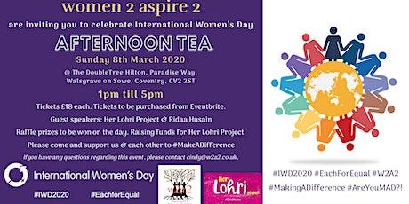 W2A2 International Women's Day Afternoon Tea tickets