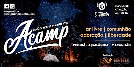 Escola de Ativação Ministerial O Tangedor - Acamp 2020 bilhetes