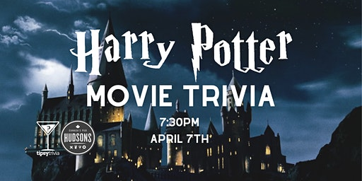 Harry Potter Movie Trivia - April 7, 7:30pm - Hudsons Lethbridge