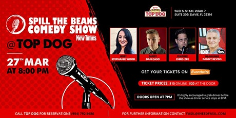Spill the Beans Stand Up Comedy Show- Danny Bevins (HBO & TBS) tickets