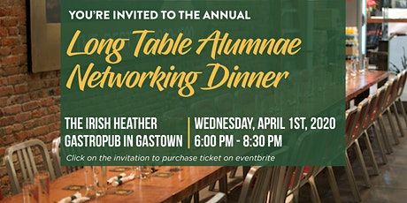 Annual Yorkie Alumnae Irish Heather Dinner  tickets