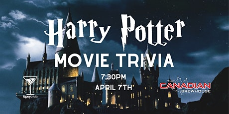 Harry Potter Movie Trivia - April 7, 7:30pm - Canadian Brewhouse Red Deer tickets