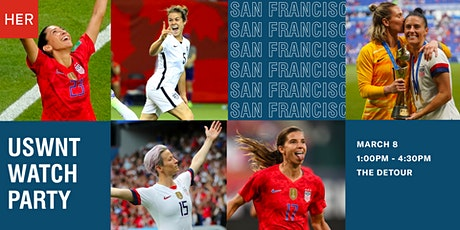 HER Meetup: USWNT vs. Spain Watch Party at The Detour tickets