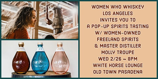 POP-UP! Freeland Spirits Tasting with Molly Troupe