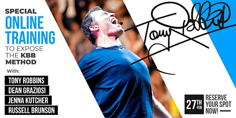 LIVE: TONY ROBBINS & DEAN GRAZIOSI EVENT! (Arlington) *2/27/20* tickets