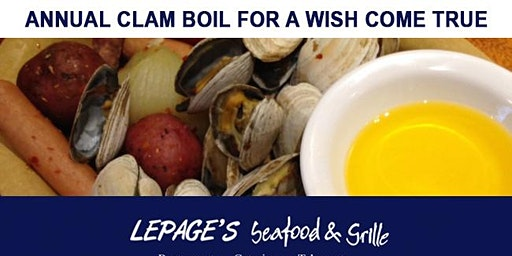 LePage's Annual Clam Boil for A Wish Come True