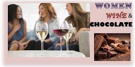 Women, Wine and Chocolate tickets