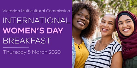Victorian Multicultural Commission IWD Breakfast tickets