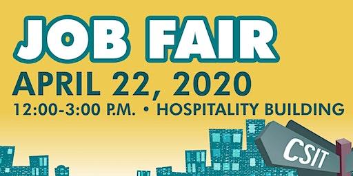 Mission College Job Fair Registration for  Students & Community members April 22, 2020
