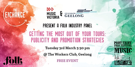 Folk ExChange Panel - Publicity and Promotion Strategies tickets