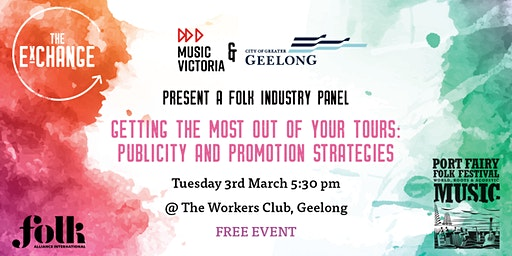 Folk ExChange Panel - Publicity and Promotion Strategies