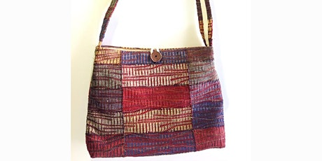 Create your own bag from upcycled textiles tickets