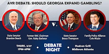 AYR Debate: Should Georgia Expand Legal Gambling? tickets