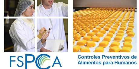 Live Online FSPCA Preventive Controls for Human Food boletos