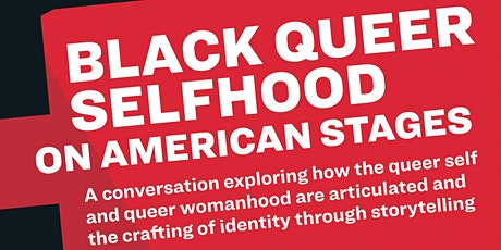MCC Let's Talk  - Black Queer Selfhood on American Stages tickets