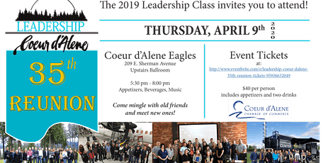 Leadership Coeur d'Alene 35th Reunion tickets