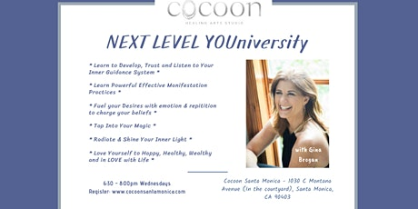 Next Level YOUniversity - Love Yourself To Happy, Healthy, Wealthy tickets