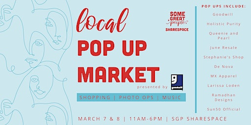 Some Great People ShareSpace: Local Pop Up Market