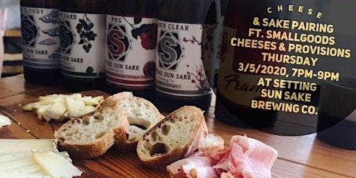 Cheese & Sake Pairing