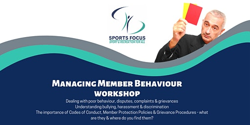 Managing Member Behaviour Workshop - Bendigo