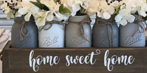 Personalized Wooden Box w/Jars