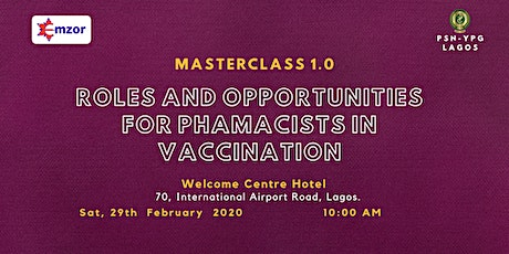 Roles and Opportunities for Pharmacists in Vaccination tickets
