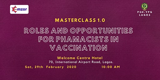 Roles and Opportunities for Pharmacists in Vaccination