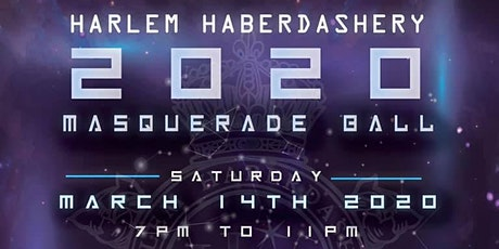 7th Annual Harlem Haberdashery 2020 Masquerade Ball tickets