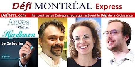 Défi Montréal Express avec Julien Brault de Hardbacon et Anges Québec billets