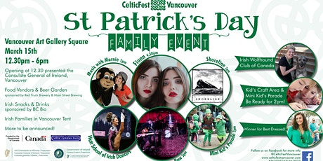 St. Patrick's Day Family Event tickets