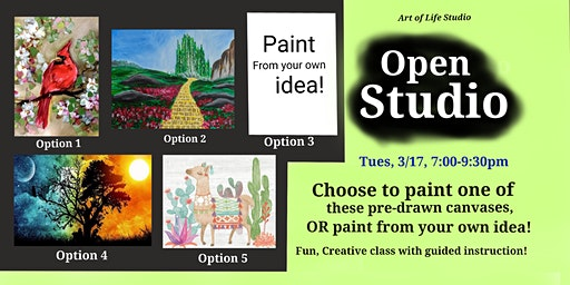 Paint Night: Open Studio