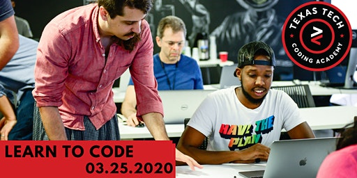 Texas Tech Coding Academy Free Learn to Code Event