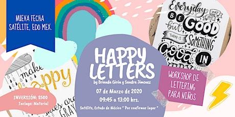 Happy Letters, Workshop de Lettering para Niños tickets