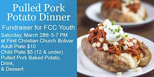 Pulled Pork Potato Dinner FCC Youth Fundraiser