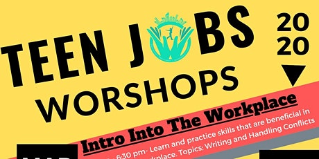 Teen Jobs Workshop tickets