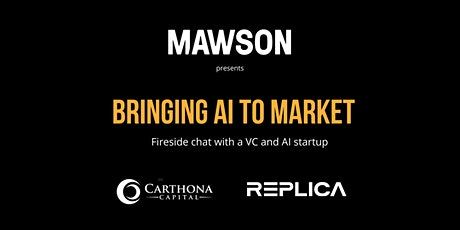 Bringing AI to market: Perspectives from a VC and AI startup tickets