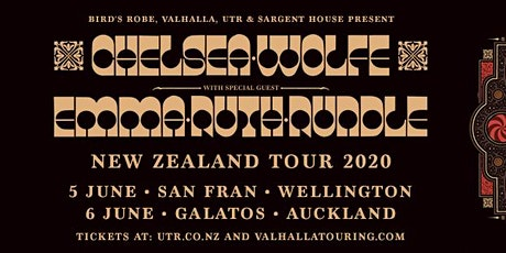 Chelsea Wolfe NZ 2020 Wellington tickets