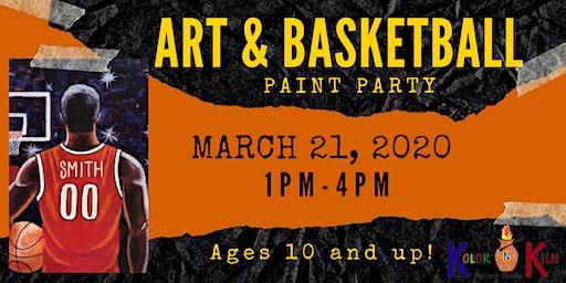 Art & Basketball Paint Party!