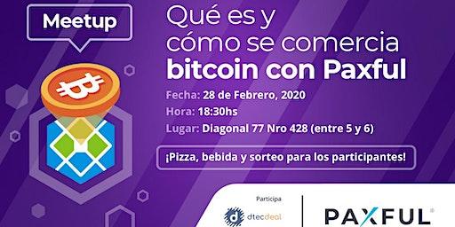 Qué es y cómo se comercia bitcoin con Paxful