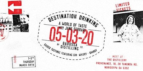 Destination Drinking with Jane Ferrari tickets