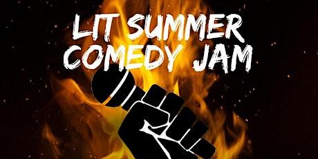 LIT SUMMER COMEDY JAM  tickets