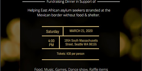 East African Refugees & Asylum Seekers Fundraiser tickets