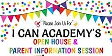 I Can Academy Preschool Open House