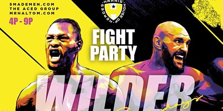 Uptown Satur-DAYs @  Harris House of Heroes (Wilder Vs. Fury Watch Party) tickets