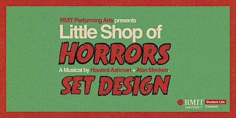Little Shop of Horrors Set Design Workshop #1 tickets