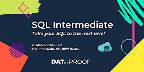 SQL Intermediate Workshop tickets