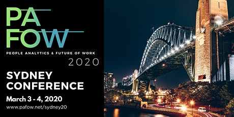 People Analytics & the Future of Work Sydney Conference tickets